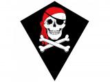 Drak nylon Pirát 70x60cm