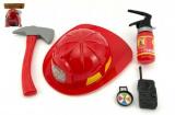 Hasičská sada helma/přilba+hasičák