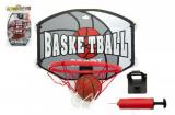 Koš basketbal + míč a doplňky