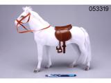 Kůň fliška 45cm bílý