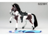 Kůň fliška malý černobílý