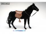 Kůň fliška 45cm černý