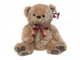 Medvěd světlehnědý s mašlí 45cm