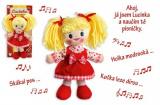 Panenka Lucinka 30cm česky zpívající