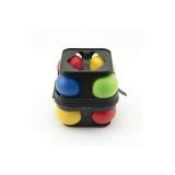 Petanque koule plast 8ks v kufříku
