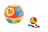 Vkládačka míč plast 13cm