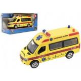Auto ambulance kov/plast 15cm