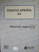 Faxová zpráva A4