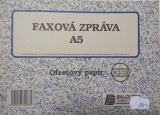 Faxová zpráva A5