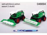 Kombajn ZT FARM zelený 19cm