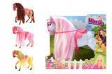 Kůň Sofie s hřívou 26cm 2 barvy