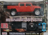RC Maisto 1:24 Hummer H3T Red