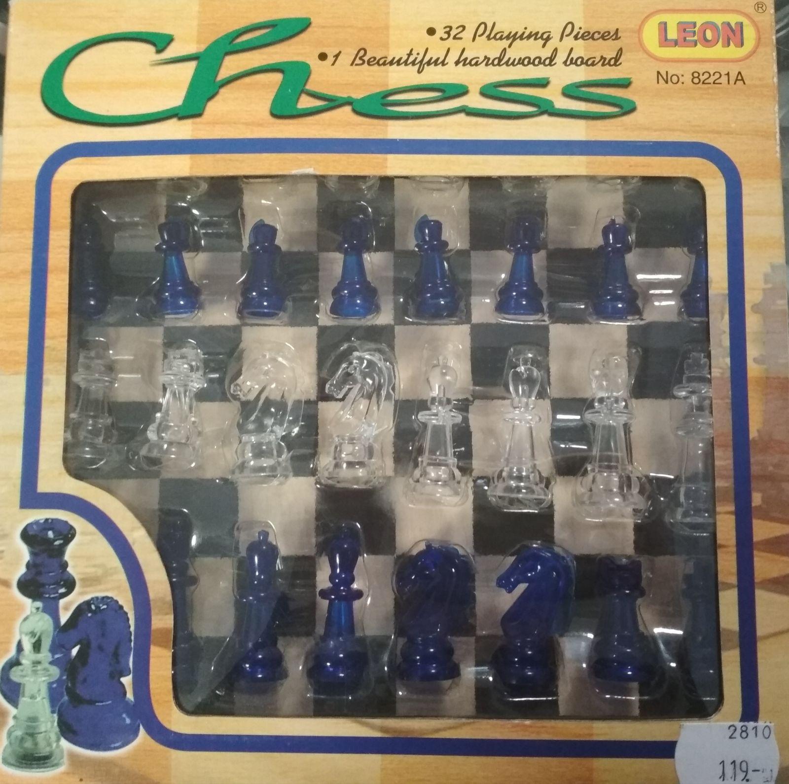 Šachy průhledné