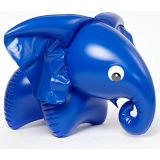 Slon nafukovací pískací 76x53cm