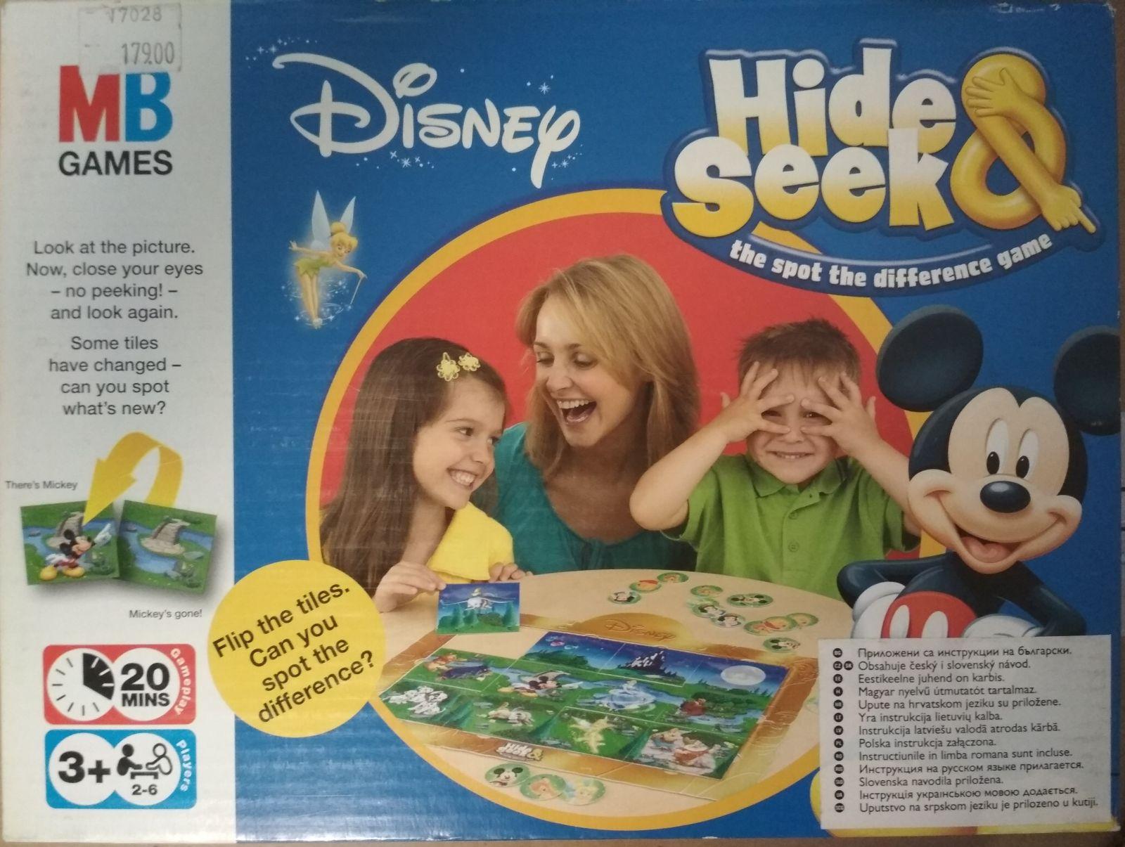 Skryj a najdi Disney