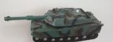 Tank na setrvačník zelený/hnědý