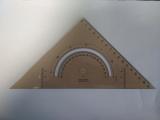 Trojúhelník 745650 kouřový úhloměrem
