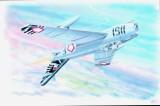 Modely SMĚR - Letadlo Mig 17F