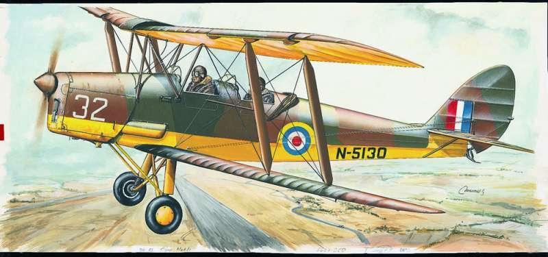 SM811 - Letadlo D.H.82 Tiger Moth
