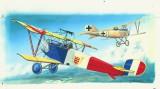 Modely SMĚR - Letadlo Nieuport 11/16 Bebe