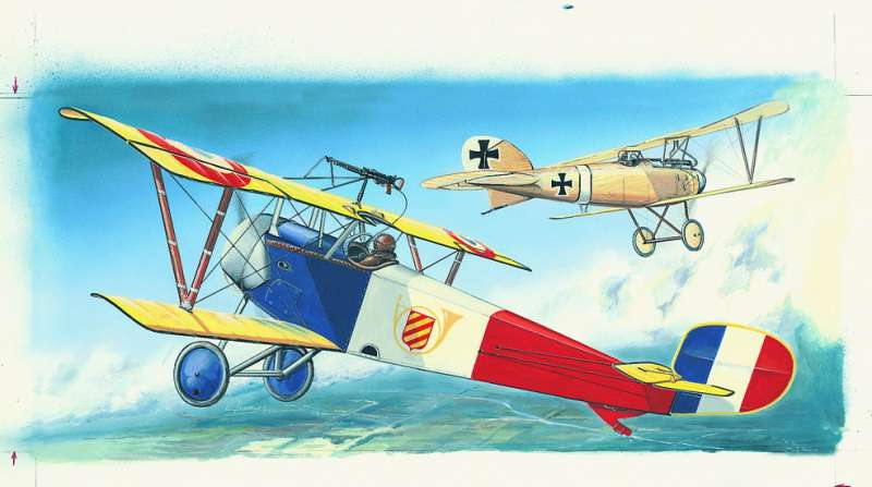 SM814 - Letadlo Nieuport 11/16 Bebe