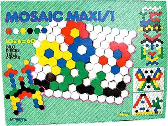 Mozaika Maxi I. 60 dílků