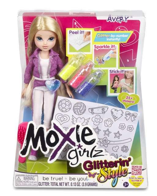 MGA - Moxie Girlz třpytivá Avery