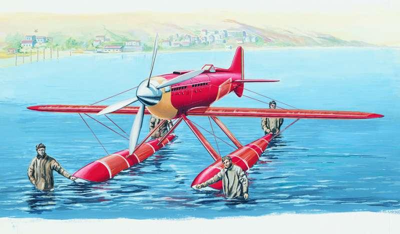 SM813 - Letadlo Macchi M.C.72