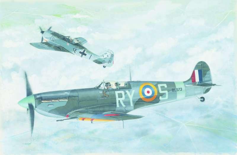 SM847 - Letadlo Supermarine Spitfire MK .VB