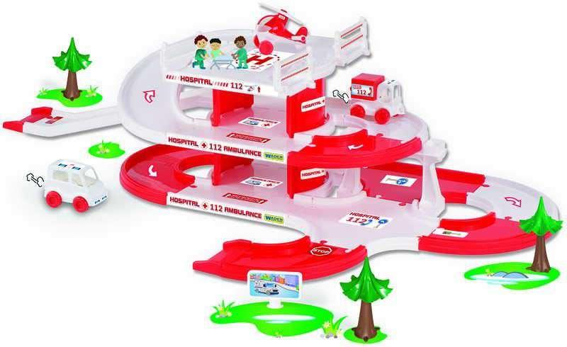 Wader . kid cars 3D Nemocnice