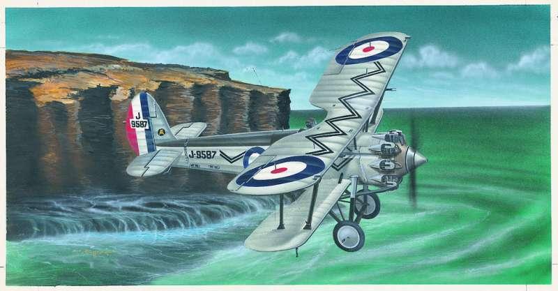 SM812 - Letadlo Bristol Bulldog