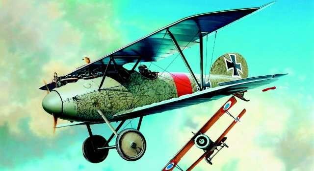 SM878 - Letadlo Albatros D.V