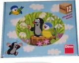 Dino - Kubus Krtek a ptáček 12 kostek