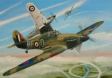 Modely SMĚR - Letadlo Hawker Hurricane MK.IIC