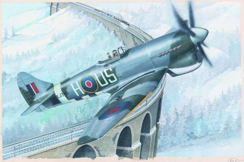 SM848 - Letadlo Hawker Tempest MK.VB