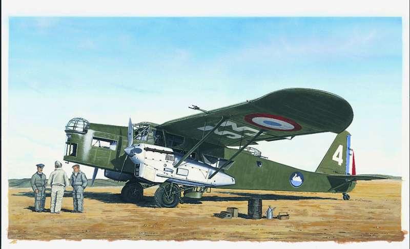 SM846- Letadlo Potez 540