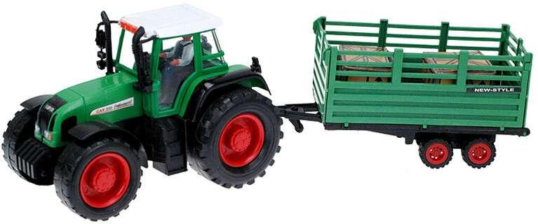Traktor s vlečkou 43 cm