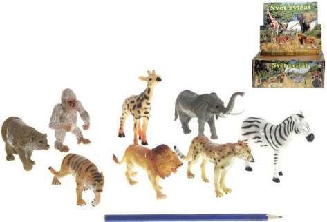 Zvířátka safari 8-13 cm