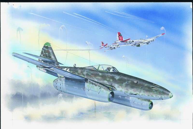 SM864 - Letadlo Messerschmitt Me 262 A1a