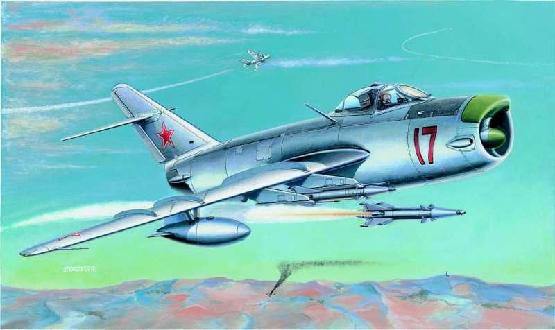 SM827 - Letadlo Mig 17 PF/PFU
