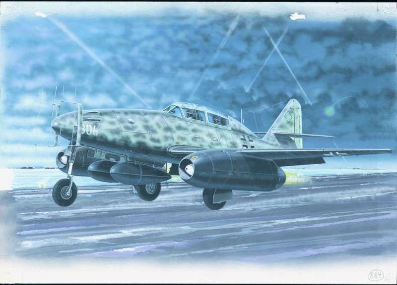 SM884 - Letadlo Meserschmitt ME 262 B
