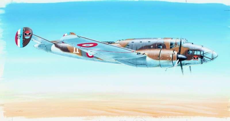 SM843 - Letadlo Leo 451