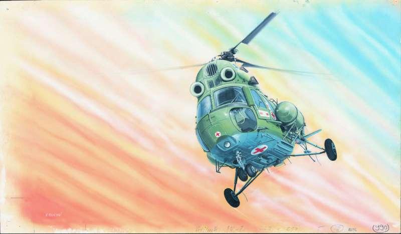 SM990 - Vrtulník MI-2