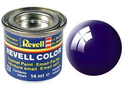 Revell barva 54 Night Blue - noční modrá lesklá