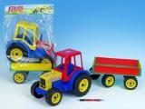 Traktor Farmer s vlekem