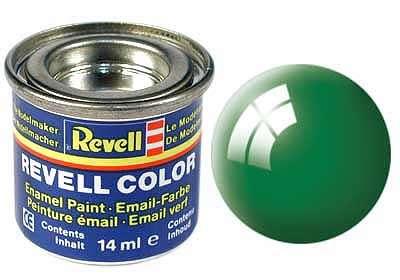 Revell barva 61 Emerald green -  smaragdově zelená lesklá