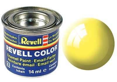 Revell barva 312 Luminous Yellow - světle žlutá polomatná