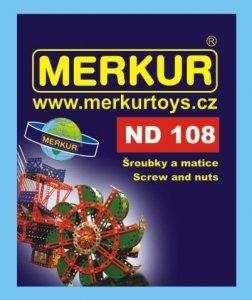 MERKUR - Náhradní díly 108 - Šroubky a matičky