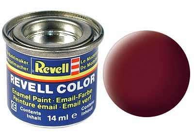 Revell barva 37 Reddish Brown - rezavě hnědá matná