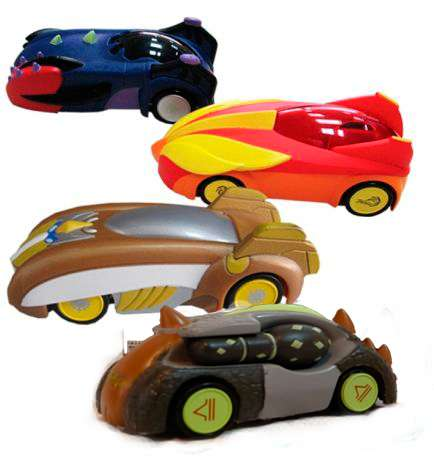 Model Gormiti cars 1:64 - Gormiti auto